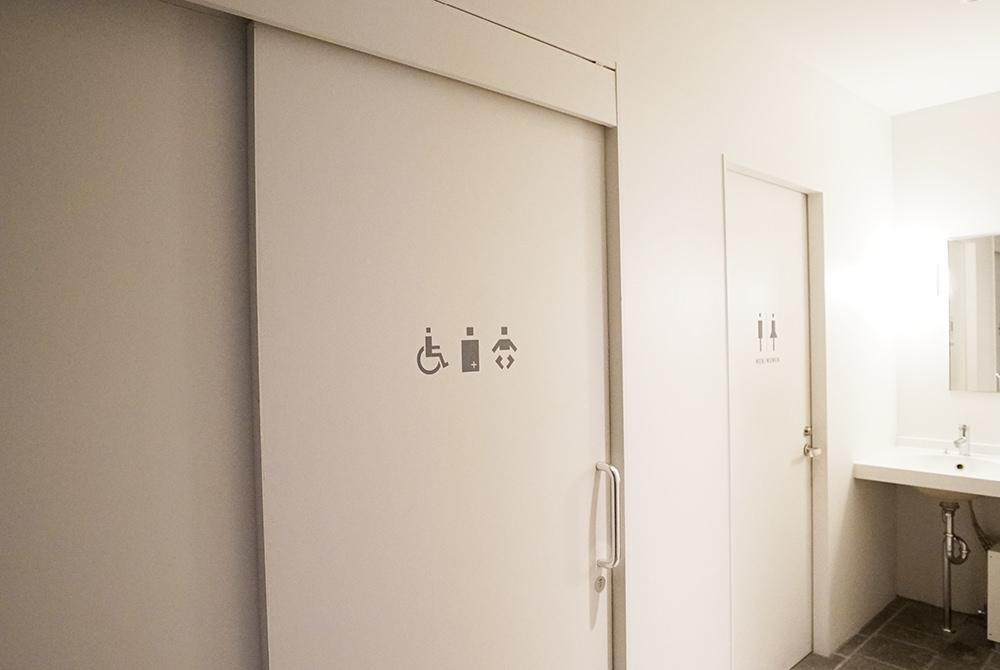 1階 多目的トイレ/男女兼用トイレ
